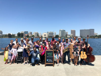 Oakland Swing! Lindy by the Lake, June 23, 2018, PRIDE